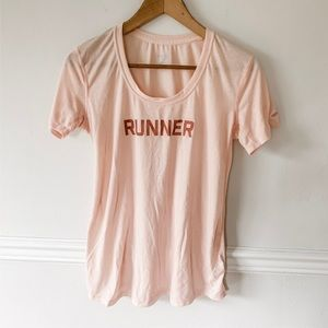 "Brooks ""runner"" tee"